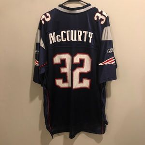 NEW ENGLAND PATRIOTS DEVIN MCCOURTY Jersey Reebok